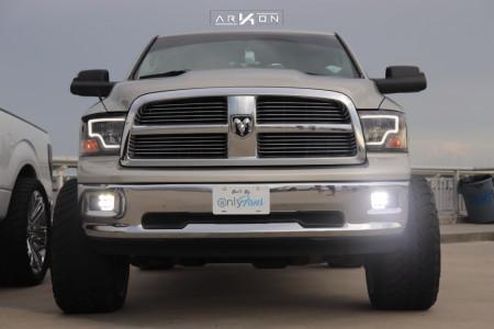 "2010 Dodge Ram 1500 - 24x14 -81mm - ARKON OFF-ROAD Lincoln - Suspension Lift 6"" - 35"" x 13.5"""