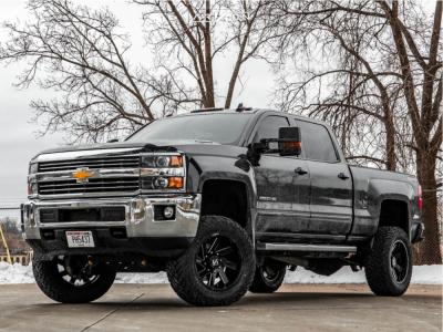 "2015 Chevrolet Silverado 2500 HD - 20x10 -25mm - ARKON OFF-ROAD Lincoln - Suspension Lift 5"" - 35"" x 12.5"""