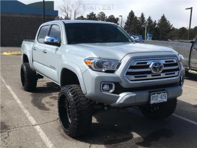"2018 Toyota Tacoma - 22x12 -51mm - ARKON OFF-ROAD Alexander - Suspension Lift 6"" - 33"" x 12.5"""