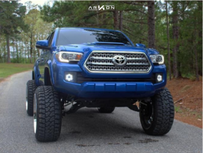 """2016 Toyota Tacoma - 24x14 -81mm - ARKON OFF-ROAD Crown Series Victory - Suspension Lift 6.5"""" - 35"""" x 13.5"""""""