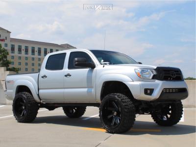 "2013 Toyota Tacoma - 22x12 -51mm - ARKON OFF-ROAD Lincoln - Suspension Lift 6"" - 33"" x 12.5"""