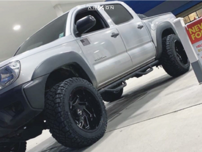 "2013 Toyota Tacoma - 20x12 -51mm - ARKON OFF-ROAD Cleopatra - Suspension Lift 3"" - 33"" x 12.5"""