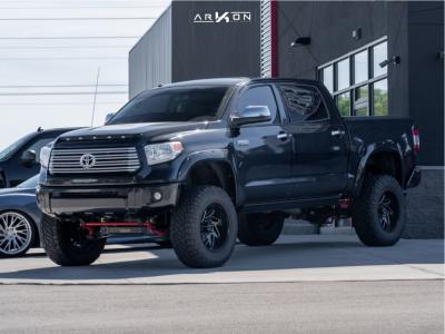 """2015 Toyota Tundra - 20x10 -25mm - ARKON OFF-ROAD Cleopatra - Suspension Lift 8"""" - 37"""" x 12.5"""""""