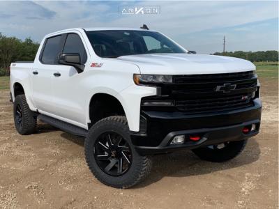 "2019 Chevrolet Silverado 1500 - 20x9 -1mm - ARKON OFF-ROAD Lincoln - Suspension Lift 4"" - 35"" x 12.5"""