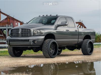 "2008 Dodge Ram 2500 - 24x14 -81mm - ARKON OFF-ROAD Alexander - Suspension Lift 2.5"" - 35"" x 13.5"""