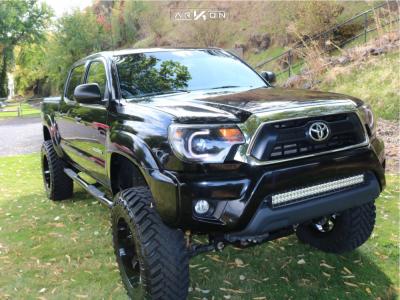 "2015 Toyota Tacoma - 20x10 -25mm - ARKON OFF-ROAD Lincoln - Suspension Lift 6"" - 35"" x 12.5"""