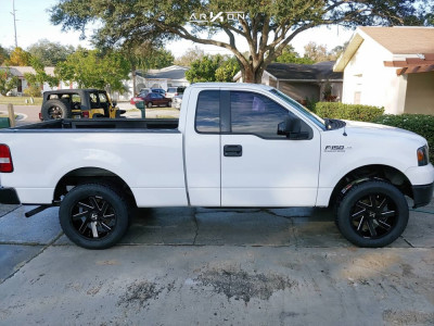2005 Ford F-150 - 20x9 -1mm - ARKON OFF-ROAD Lincoln - Leveling Kit - 285/55R20