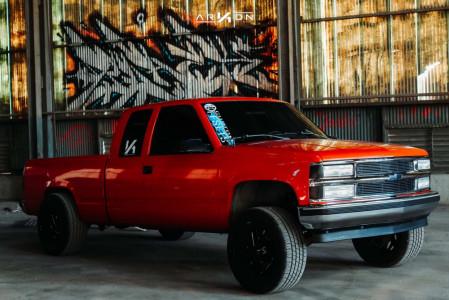 """1993 Chevrolet C1500 - 20x12 -51mm - ARKON OFF-ROAD Cleopatra - Suspension Lift 4"""" - 285/50R20"""