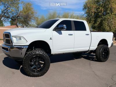 "2011 Dodge Ram 2500 - 22x12 -51mm - ARKON OFF-ROAD Lincoln - Suspension Lift 6"" - 37"" x 13.5"""