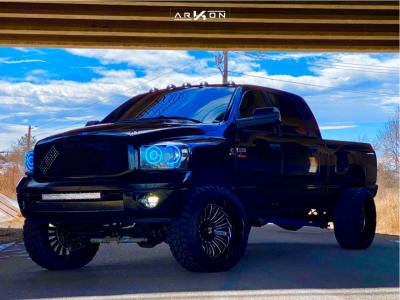 "2008 Dodge Ram 3500 - 24x14 -81mm - ARKON OFF-ROAD Alexander - Suspension Lift 4.5"" - 35"" x 13.5"""