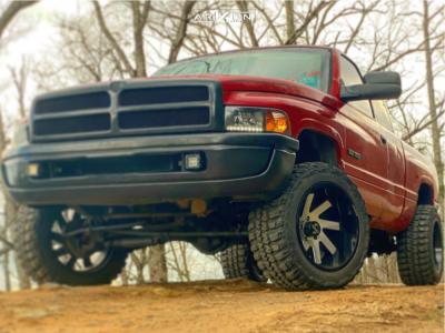 "1999 Dodge Ram 1500 - 20x12 -51mm - ARKON OFF-ROAD Lincoln - Suspension Lift 2.5"" - 33"" x 12.5"""
