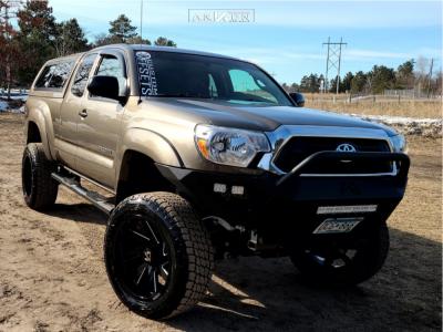 "2014 Toyota Tacoma - 20x10 -25mm - ARKON OFF-ROAD Lincoln - Suspension Lift 6"" - 275/55R20"