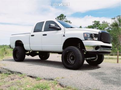 "2006 Dodge Ram 2500 - 20x12 -51mm - ARKON OFF-ROAD Alexander - Suspension Lift 6"" - 35"" x 12.5"""