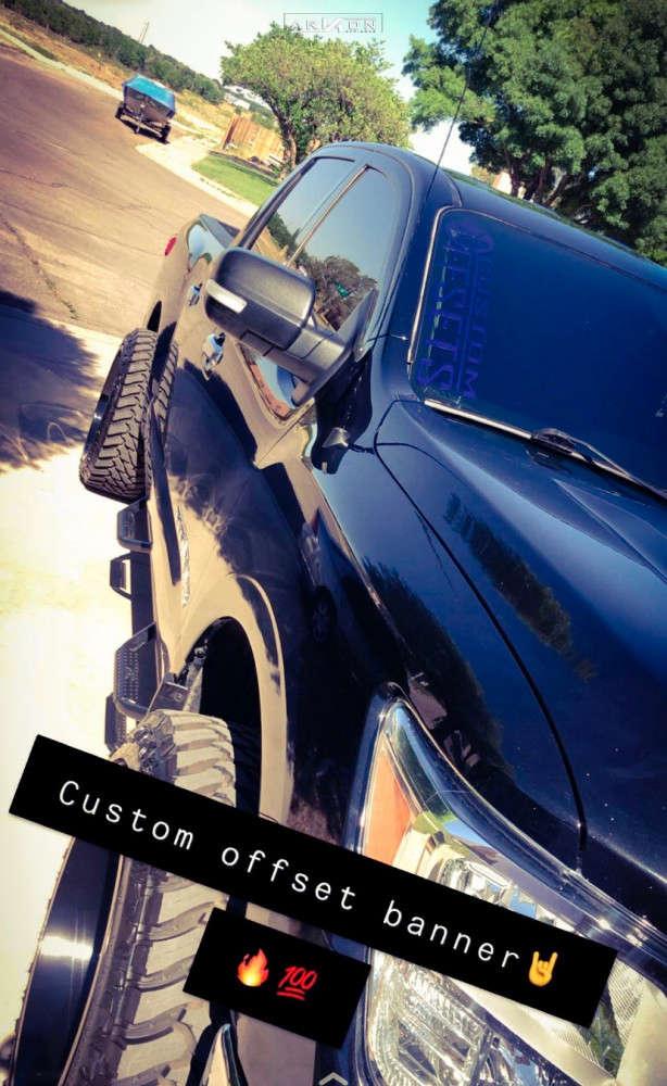 7 2018 Titan Nissan Rough Country Suspension Lift 3in Arkon Off Road Alexander Black