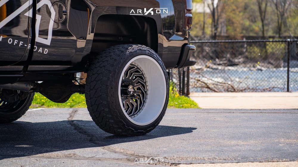 10 2015 Silverado 1500 Chevrolet Rough Country Suspension Lift 7in Arkon Off Road Crown Series Victory Custom