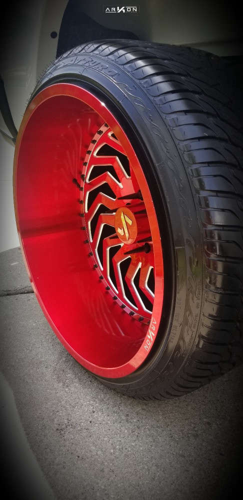 8 2019 1500 Ram Motofab Suspension Lift 3in Arkon Off Road Crown Series Victory Red