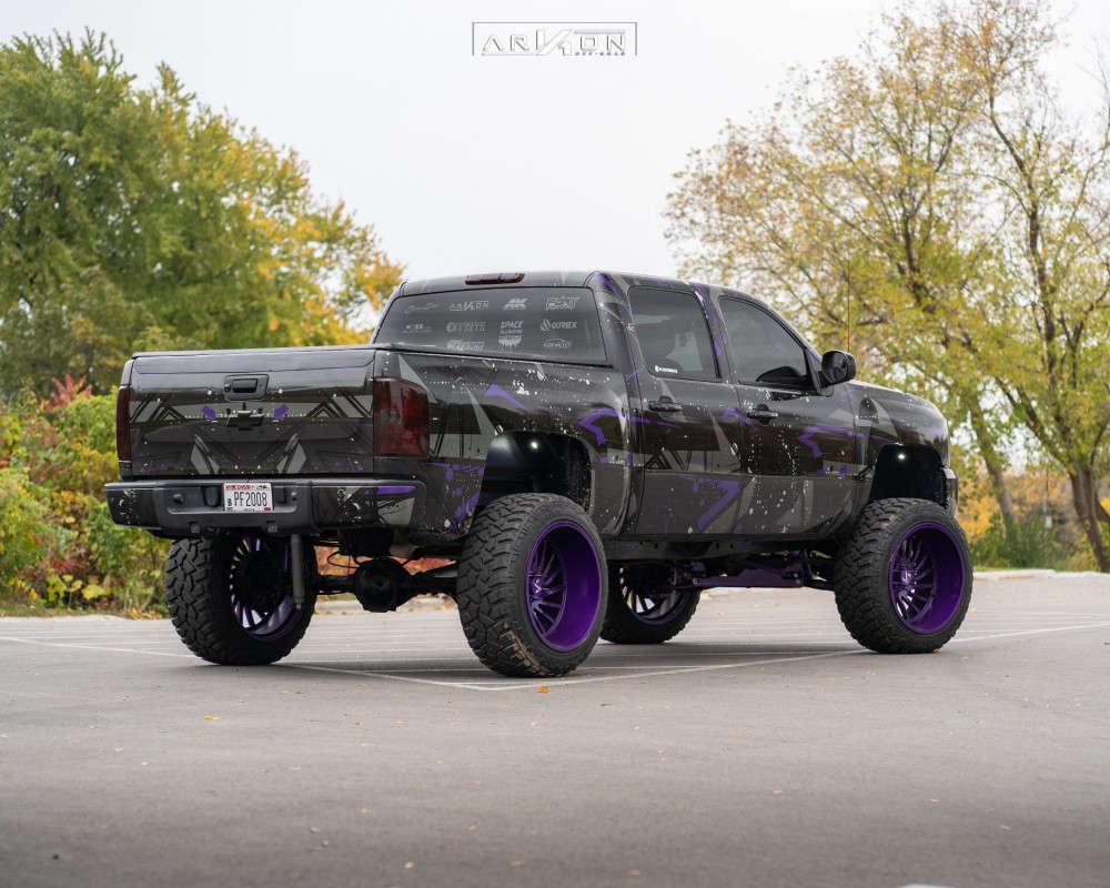 4 2011 Silverado 1500 Chevrolet Mcgaughys Suspension Lift 9in Arkon Off Road Caesar Custom