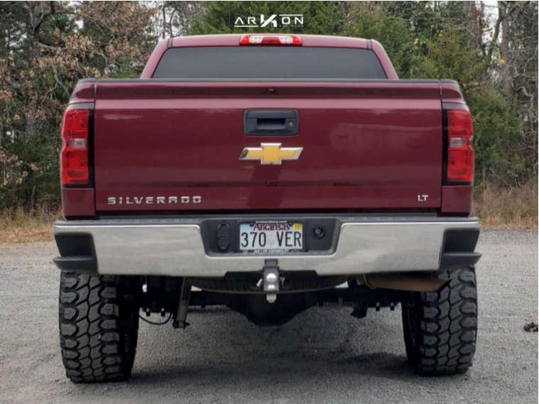 3 2014 Silverado 1500 Chevrolet Rough Country Air Suspension Arkon Off Road Lincoln Chrome