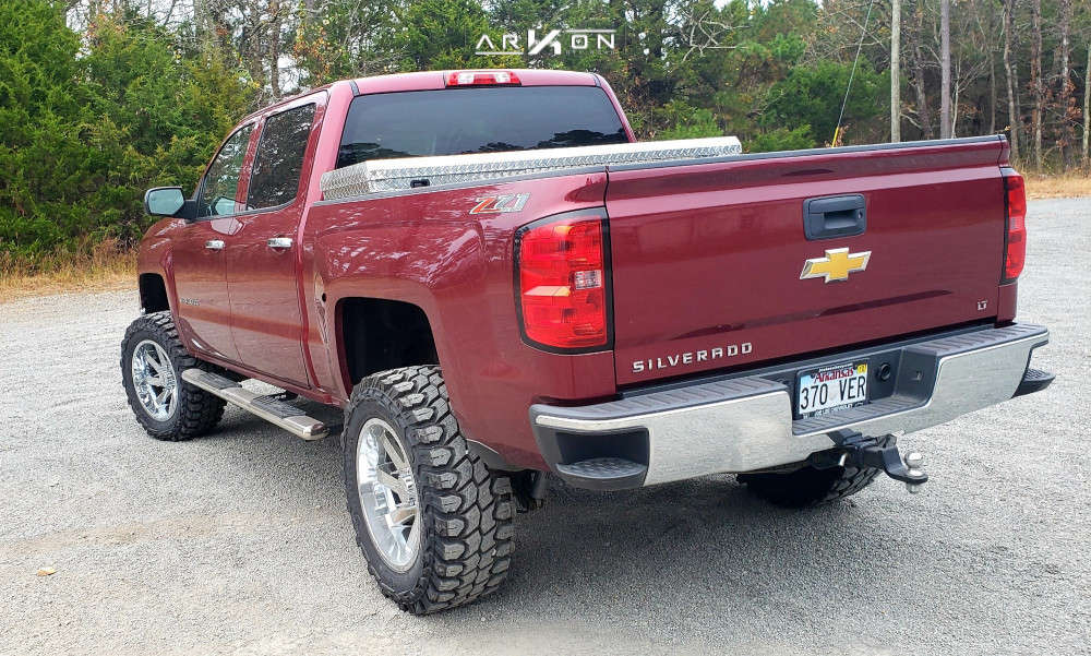 4 2014 Silverado 1500 Chevrolet Rough Country Air Suspension Arkon Off Road Lincoln Chrome