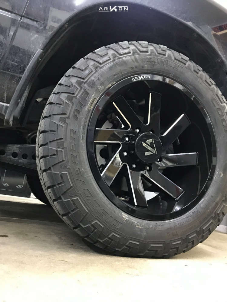 9 2019 2500 Ram Stock Leveling Kit Arkon Off Road Lincoln Machined Black