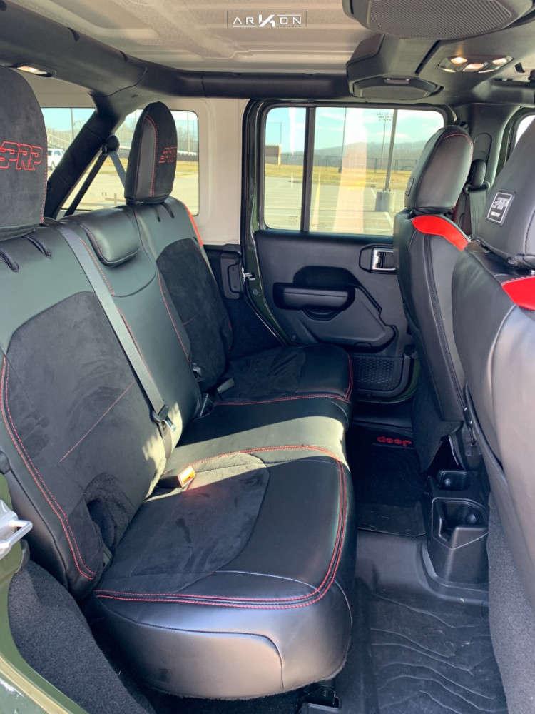 12 2021 Wrangler Jeep Sport S Stock Air Suspension Arkon Off Road Crown Series Triumph Black