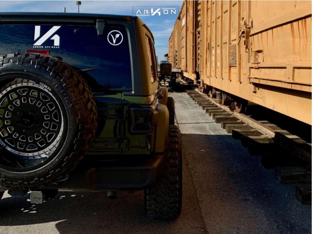 3 2021 Wrangler Jeep Sport S Stock Air Suspension Arkon Off Road Crown Series Triumph Black