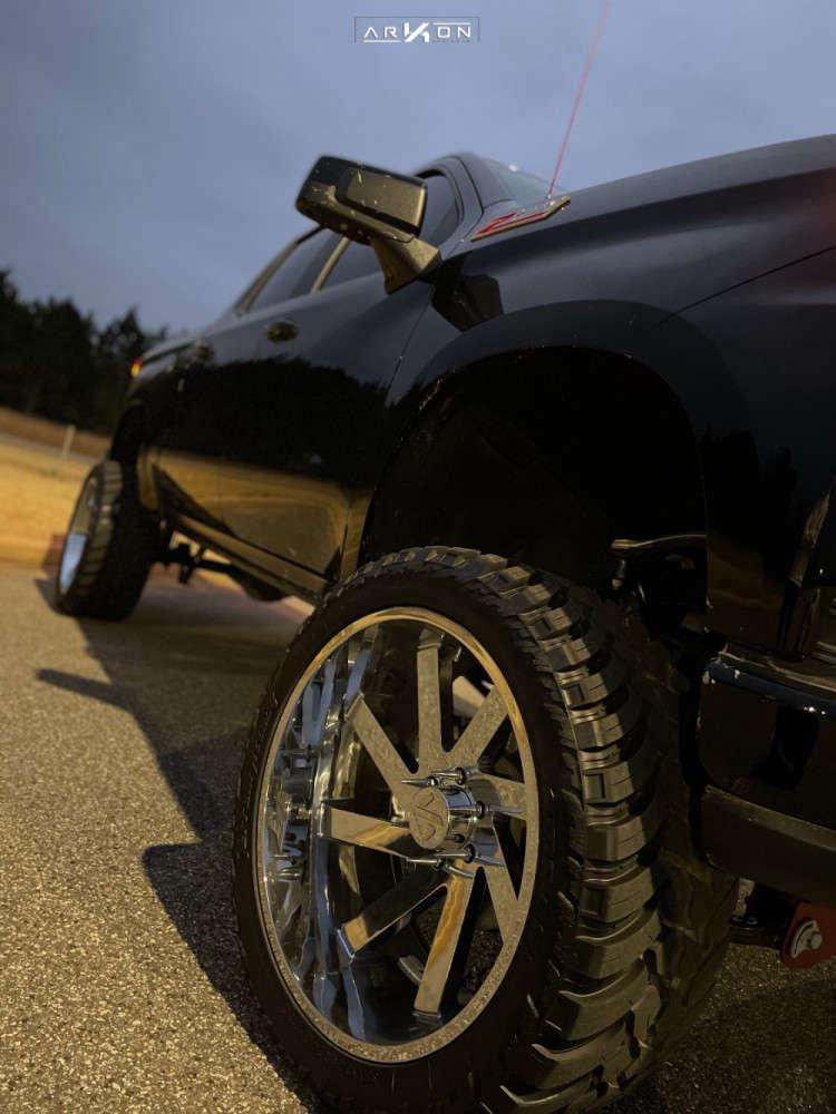 15 2021 Silverado 1500 Chevrolet Full Throttle Suspension Lift 9in Arkon Off Road Lincoln Chrome