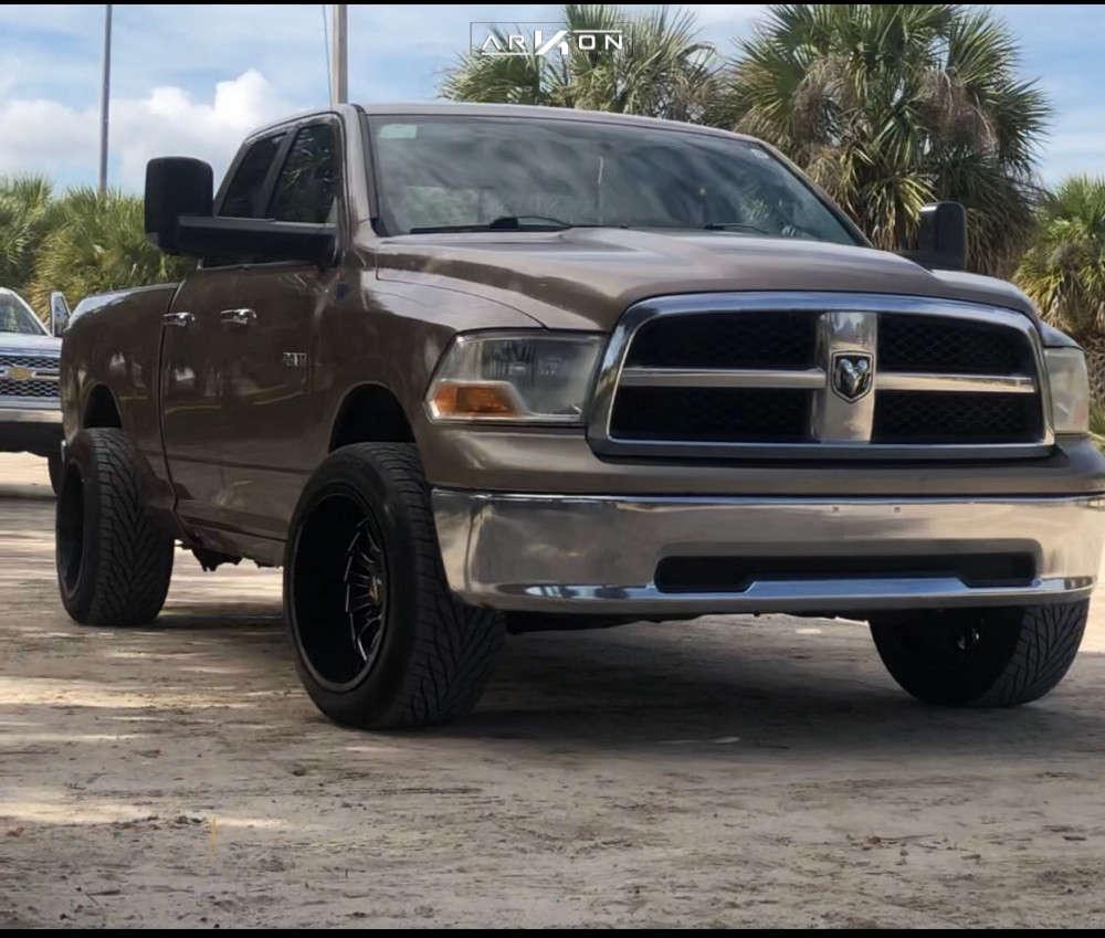 1 2009 Ram 1500 Dodge Supreme Leveling Kit Arkon Off Road Alexander Black
