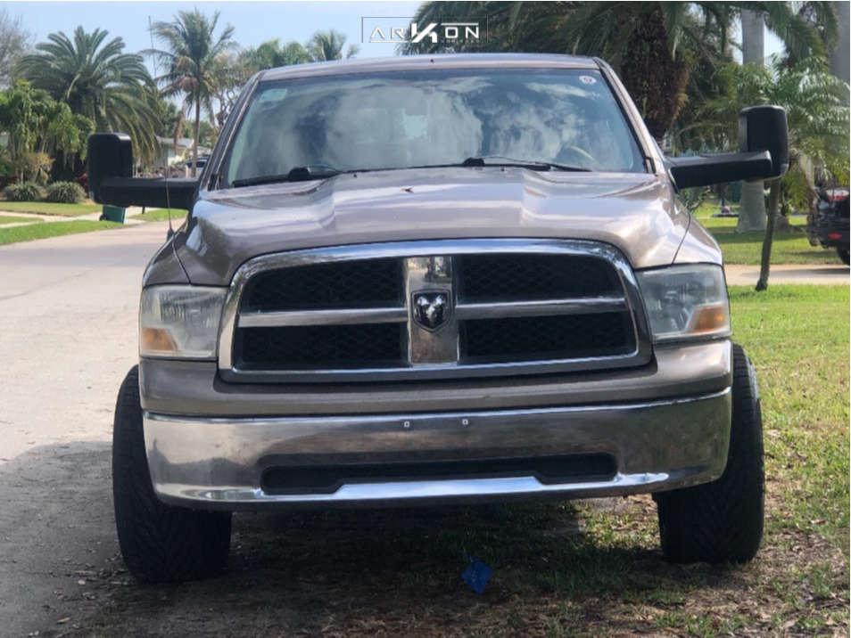 2 2009 Ram 1500 Dodge Supreme Leveling Kit Arkon Off Road Alexander Black