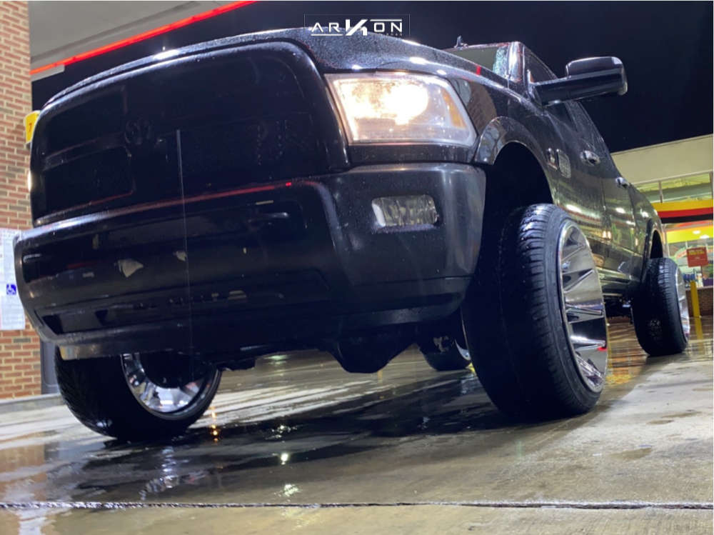 14 2013 2500 Ram 2 Inch Level Leveling Kit Arkon Off Road Roosevelt Chrome