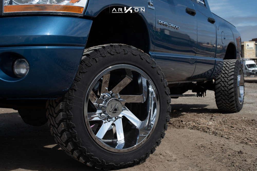 2 2006 Ram 2500 Dodge 2 Inch Level Leveling Kit Arkon Off Road Lincoln Chrome