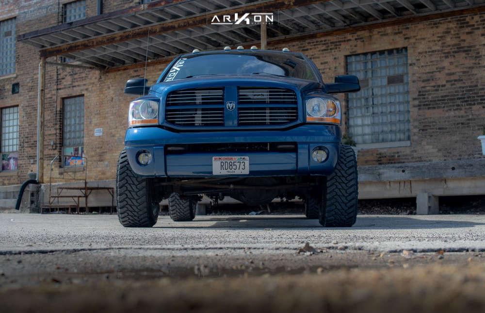 7 2006 Ram 2500 Dodge 2 Inch Level Leveling Kit Arkon Off Road Lincoln Chrome