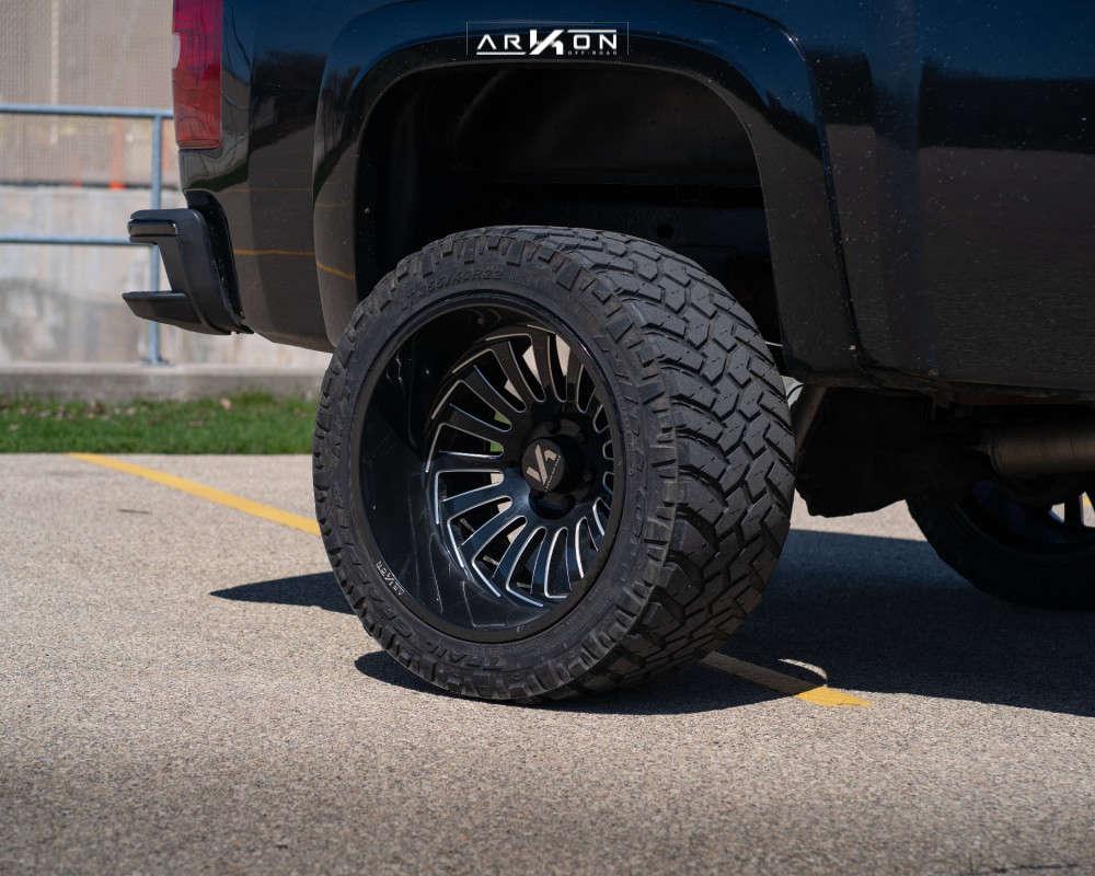 2 2008 Silverado 1500 Chevrolet Rough Country Suspension Lift 6in Arkon Off Road Alexander Black