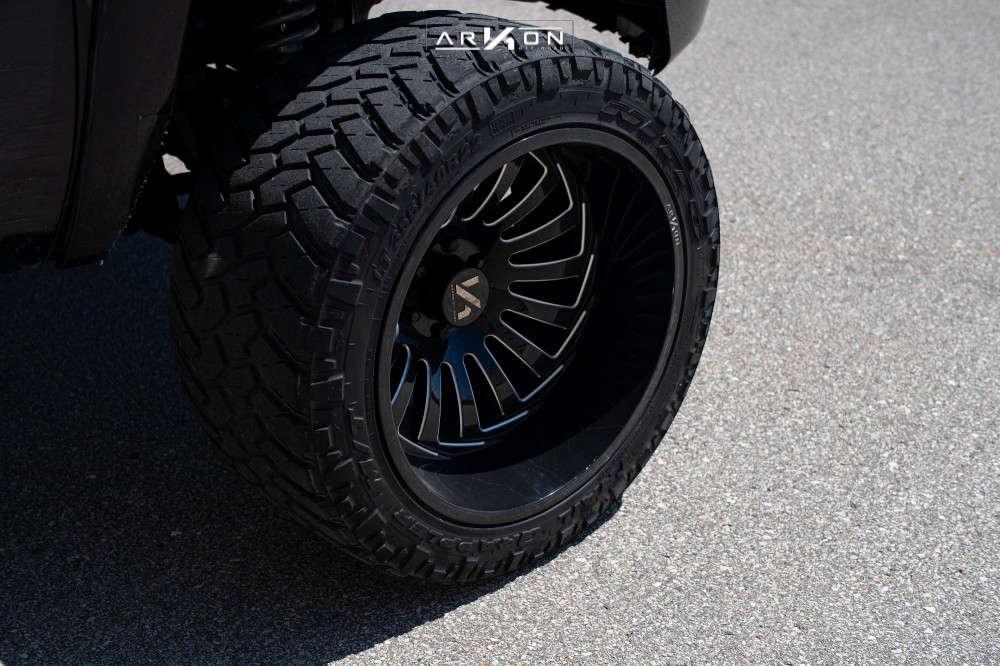 7 2008 Silverado 1500 Chevrolet Rough Country Suspension Lift 6in Arkon Off Road Alexander Black