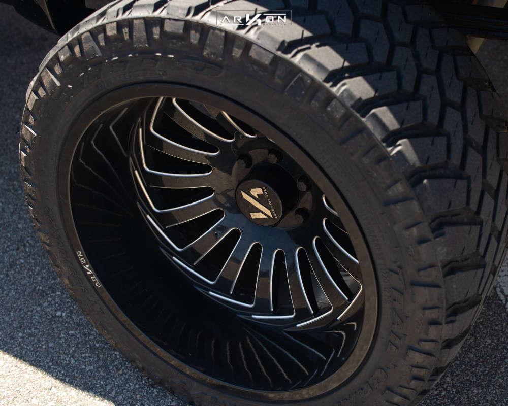 8 2008 Silverado 1500 Chevrolet Rough Country Suspension Lift 6in Arkon Off Road Alexander Black