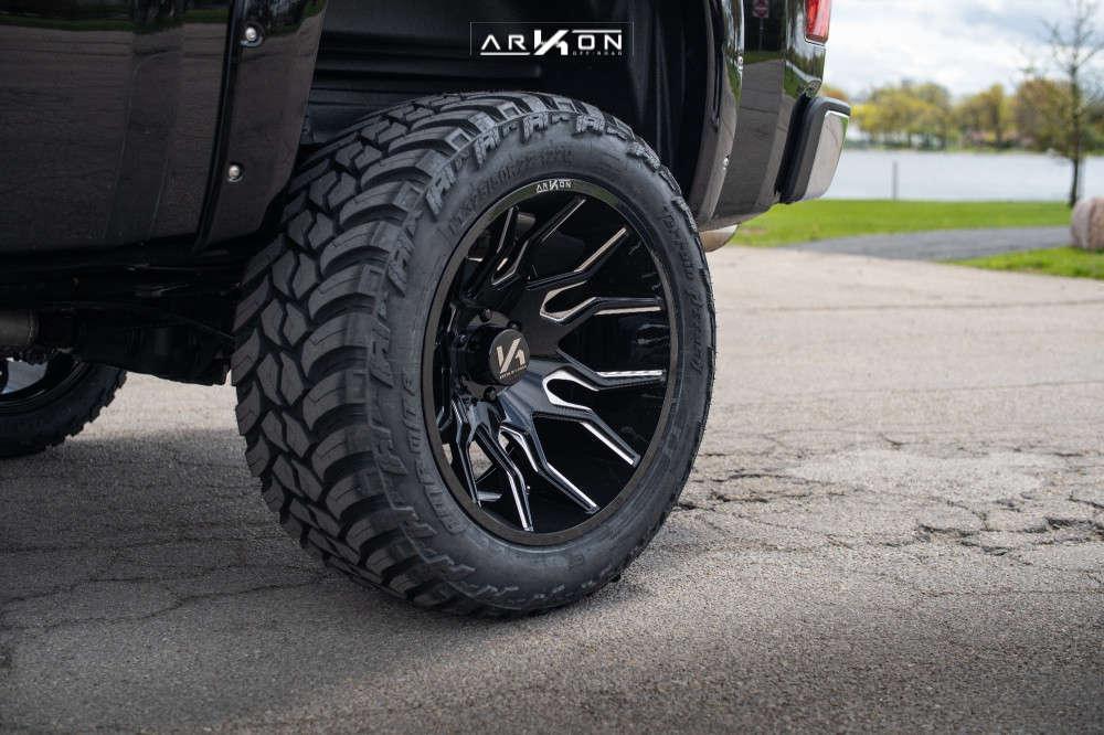 2 2012 Silverado 1500 Chevrolet Bds Suspension Lift 6in Arkon Off Road Roosevelt Machined Black