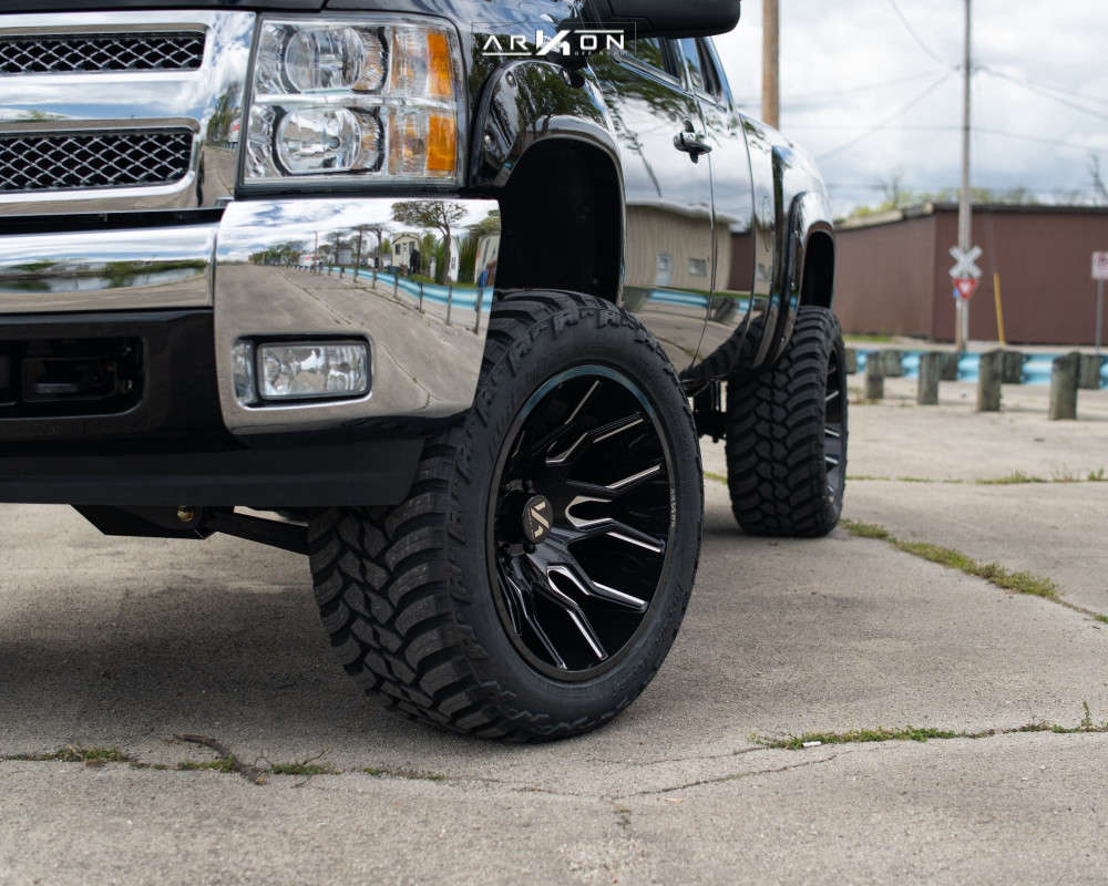 5 2012 Silverado 1500 Chevrolet Bds Suspension Lift 6in Arkon Off Road Roosevelt Machined Black