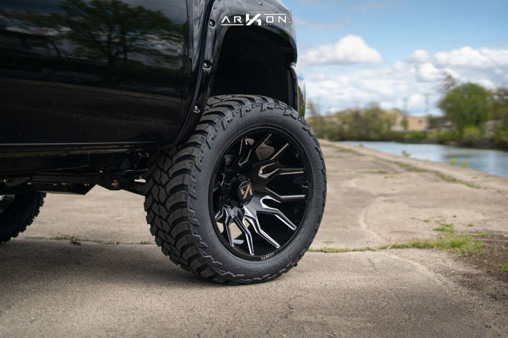 9 2012 Silverado 1500 Chevrolet Bds Suspension Lift 6in Arkon Off Road Roosevelt Machined Black