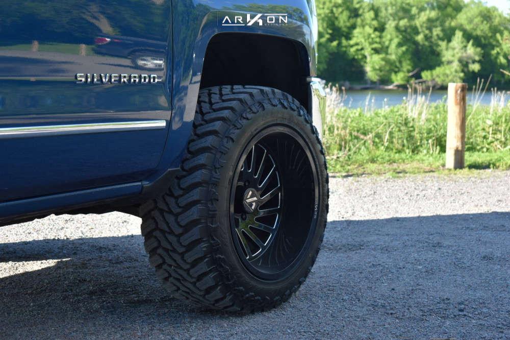 15 2018 Silverado 1500 Chevrolet Rough Country Leveling Kit Arkon Off Road Caesar Black