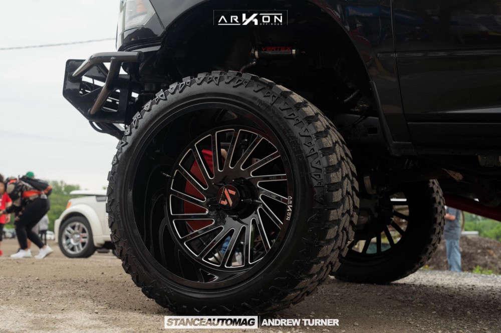 6 2018 1500 Ram Bds Suspension Lift 10in Arkon Off Road Caesar Black