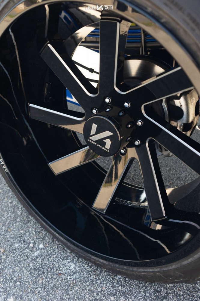 6 2019 F 250 Super Duty Ford Cognito Suspension Lift 6in Arkon Off Road Lincoln Machined Black