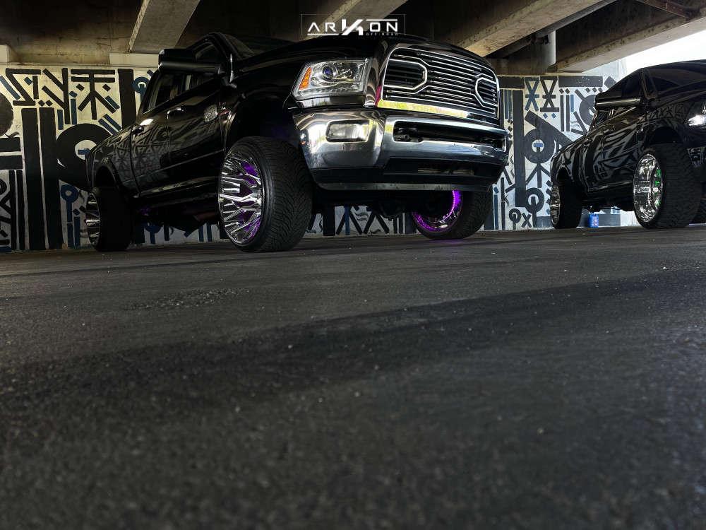 1 2013 2500 Ram 2 Inch Level Leveling Kit Arkon Off Road Roosevelt Black