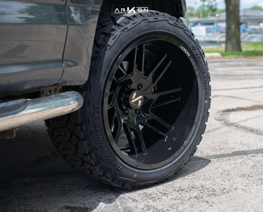 4 2015 F 150 Ford Halo Lift Suspension Lift 3in Arkon Off Road Davinci Black