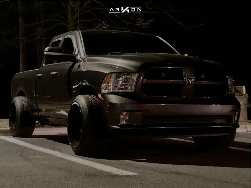 14 2014 1500 Ram Level 2in Drop Rear Arkon Off Road Lincoln Black