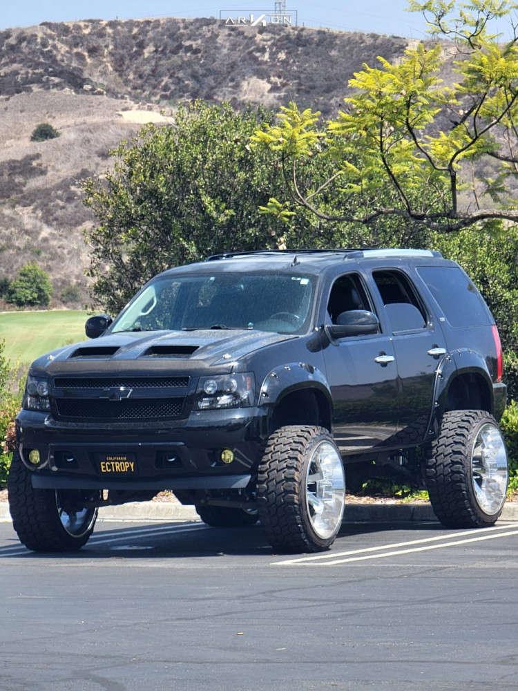 3 2013 Tahoe Chevrolet Fabtech Suspension Lift 9in Arkon Off Road Lincoln Chrome