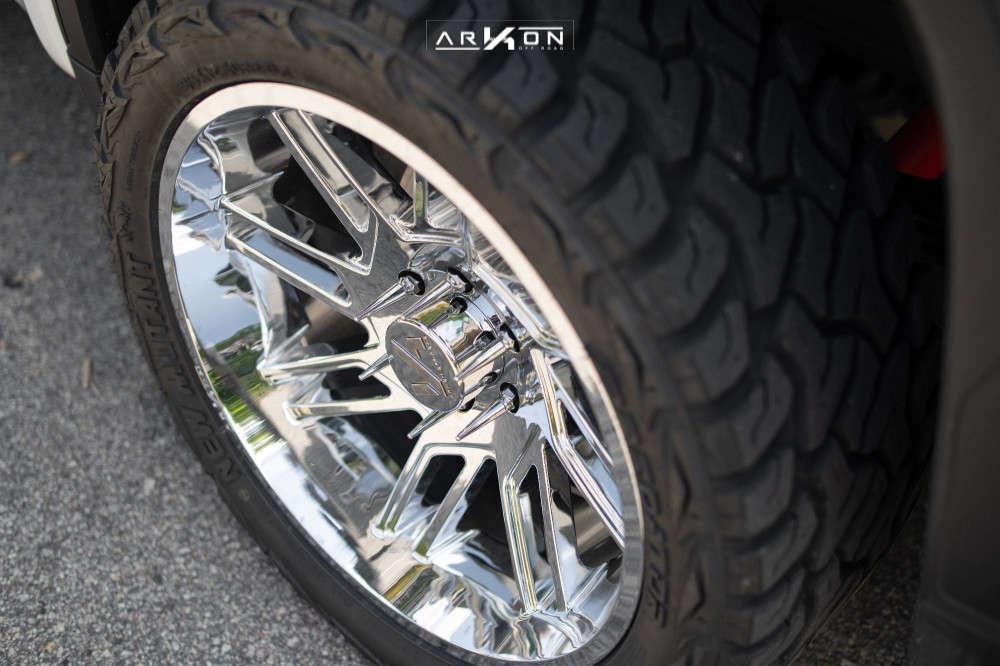 2 2021 Sierra 1500 Gmc Rough Country Leveling Kit Arkon Off Road Davinci Chrome