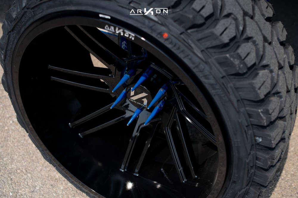 5 2014 Silverado 1500 Chevrolet Cognito Suspension Lift 12in Arkon Off Road Davinci Black