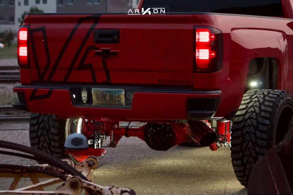 12 2015 Silverado 1500 Chevrolet Bds Suspension Lift 6in Arkon Off Road Mandela Custom