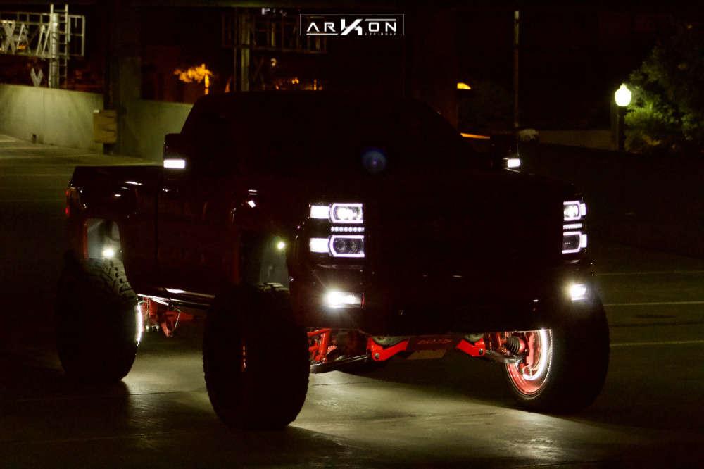 13 2015 Silverado 1500 Chevrolet Bds Suspension Lift 6in Arkon Off Road Mandela Custom