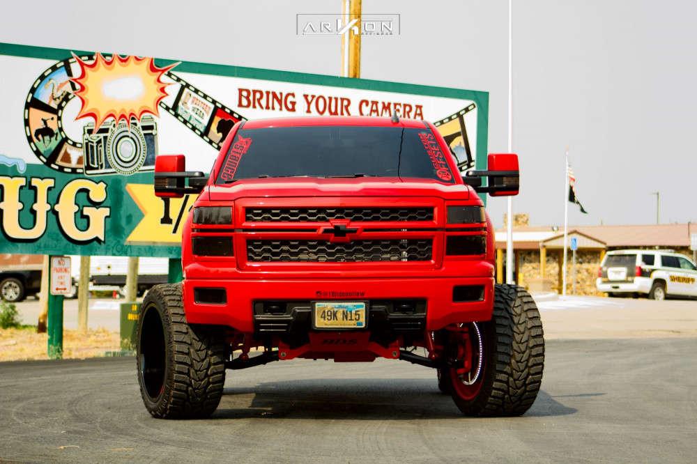 6 2015 Silverado 1500 Chevrolet Bds Suspension Lift 6in Arkon Off Road Mandela Custom